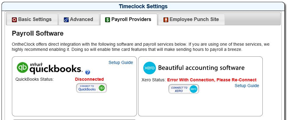 Quickbooks Online Videos Instructions Ontheclock Time Clock