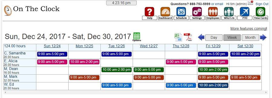 How To Improve Your Business In 2018 Ontheclock Time Clock