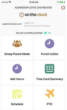 Mobile Time Clock For Employees | OnTheClock