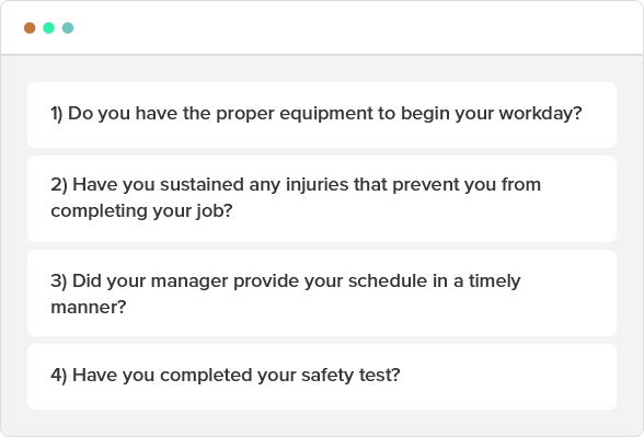 Common questions to ask employees